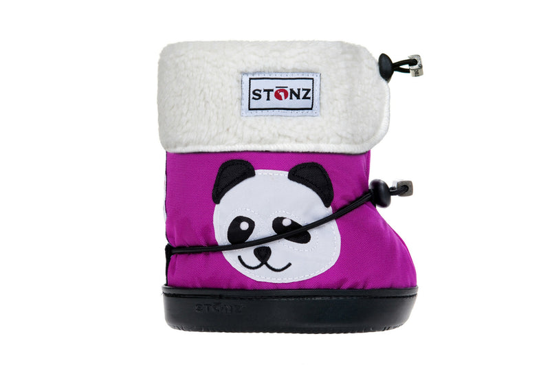 Toddler Booties with Liner - Panda - Weather-resistant Boots for Children - Stonz