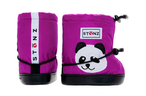 Toddler Booties - Panda - Weather-resistant Boots for Babies - Children