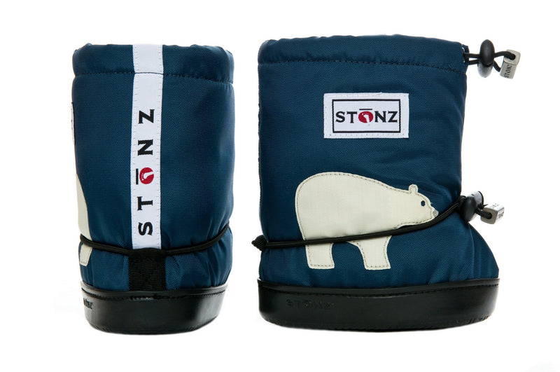 Toddler Booties - Polar Bear - Weather-resistant Boots for Babies - Children