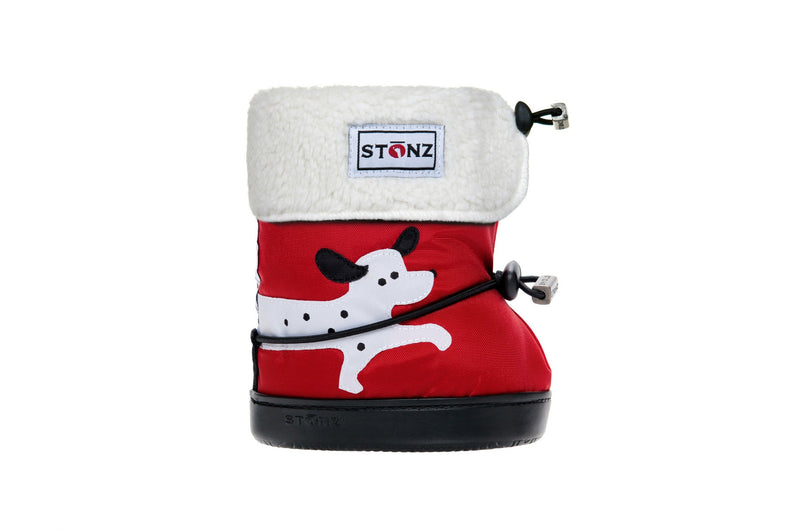 Toddler Booties with Liner - Dog - Weather-resistant Boots for Children - Stonz