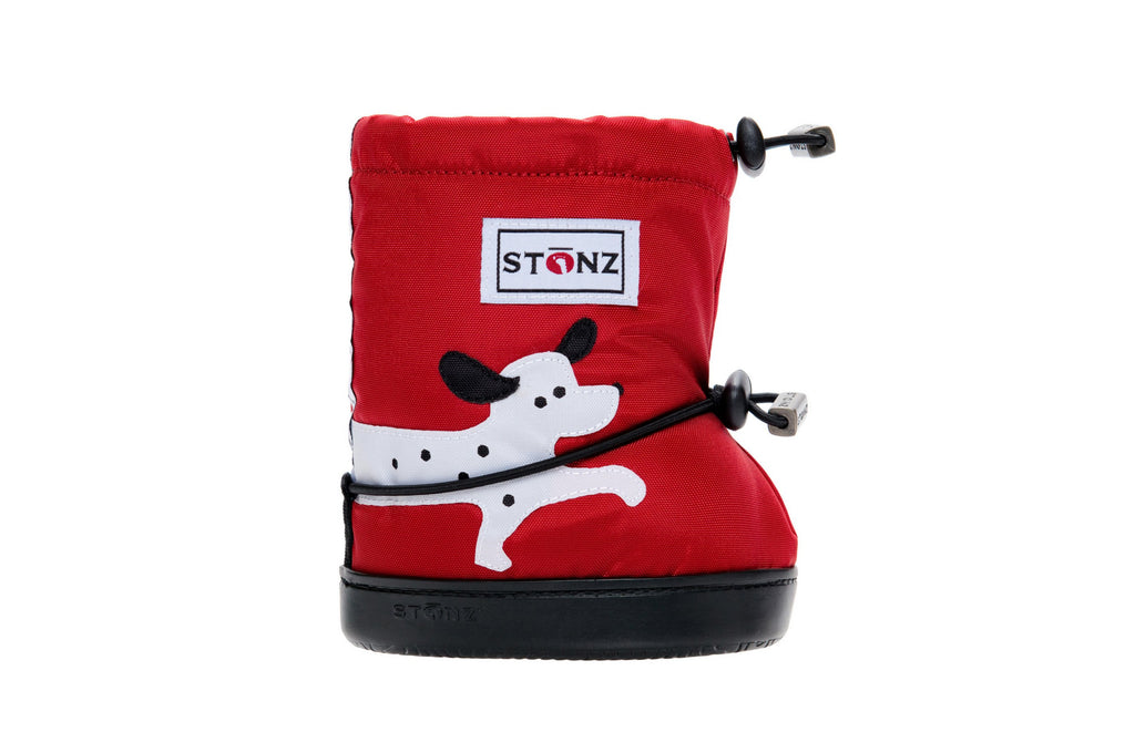 Toddler Booties - Dog - Front View - Weather-resistant Boots for Children - Stonz