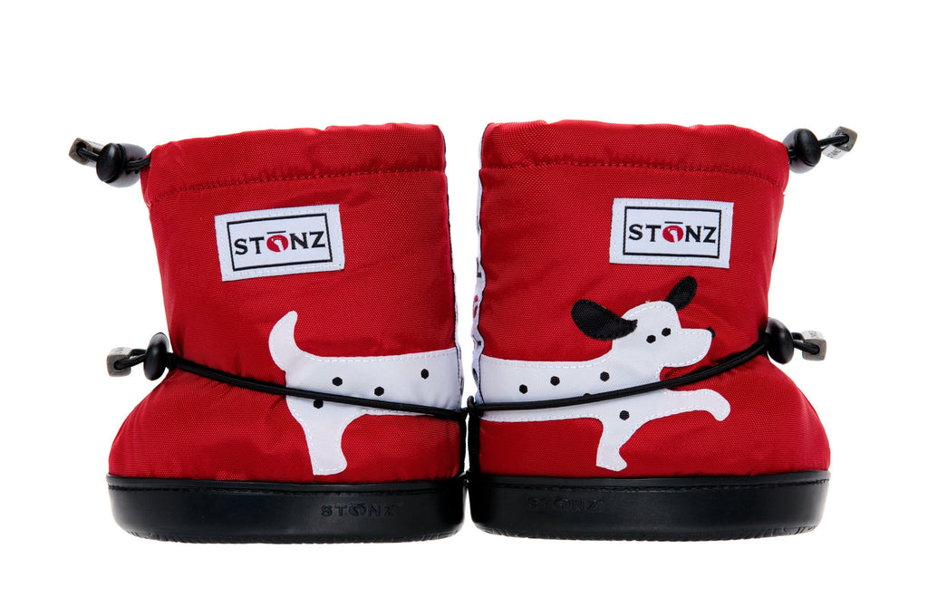 Toddler Booties - Dog - Print Details - Weather-resistant Boots for Children - Stonz