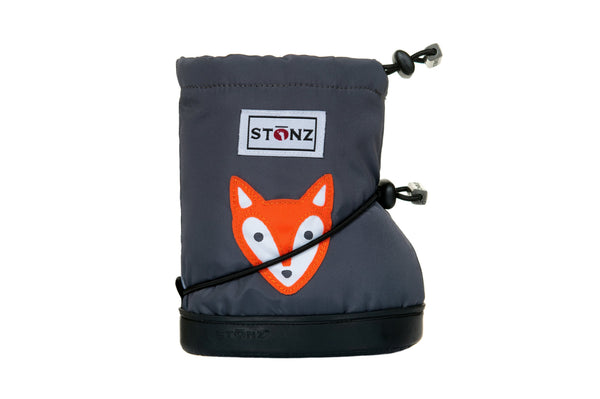 Toddler Booties - Fox - Front View - Weather-resistant Boots for Children - Stonz