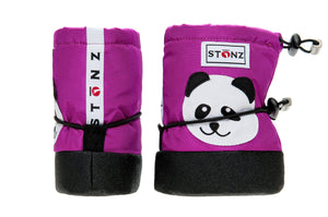 Baby Booties - Panda - Weather-resistant Boots for Babies - Stonz