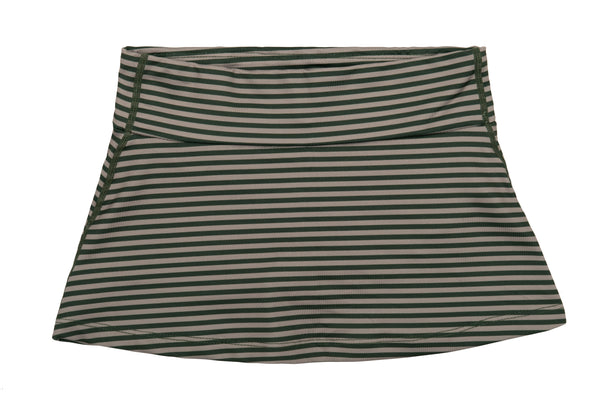 Skort - Forest Trail Stripes - Green