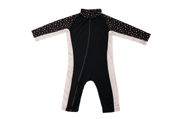 Sun Suit - Night Camper - Black
