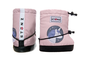 Toddler Booties - Unicorn - Haze Pink