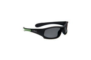 Baby Sport Sunnies  - Black/Mint Green
