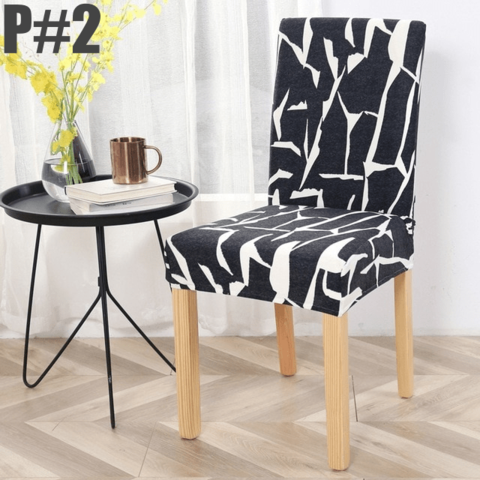 IB Stretchable Elastic Chair Covers, All-Season Chair Slip Covers Moisture And Stain-Resistant, Perfect Fit Chair Cover