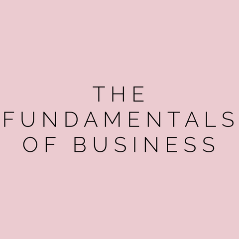 The fundamentals of Business