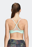 Ongasoft Yoga Bra-15016Green-Back