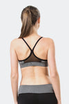 Ongasoft Yoga Bra-15016Grey-Back