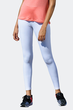 Ongasoft Yoga pants-K9005White-Front