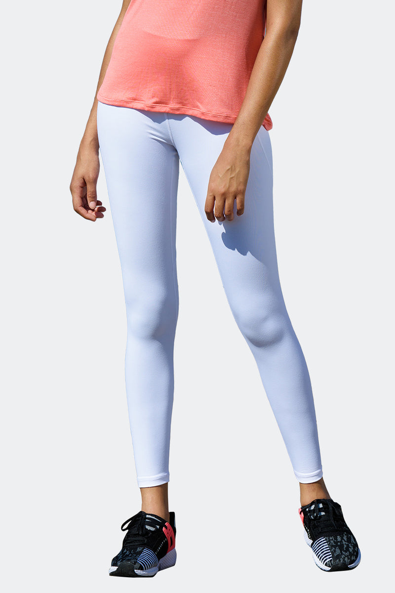 Ongasoft Yoga pants-K9005White-Back