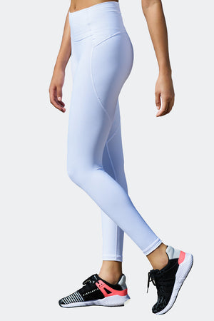 Ongasoft Yoga pants-K9005White-Side