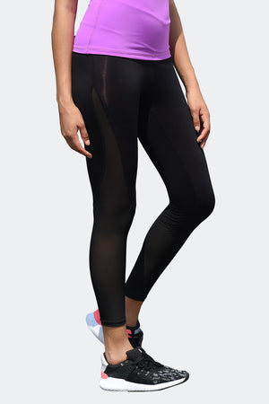 Ongasoft Yoga pants-K026Black-Side