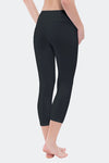 Ongasoft Yoga pants-9001Black-Back