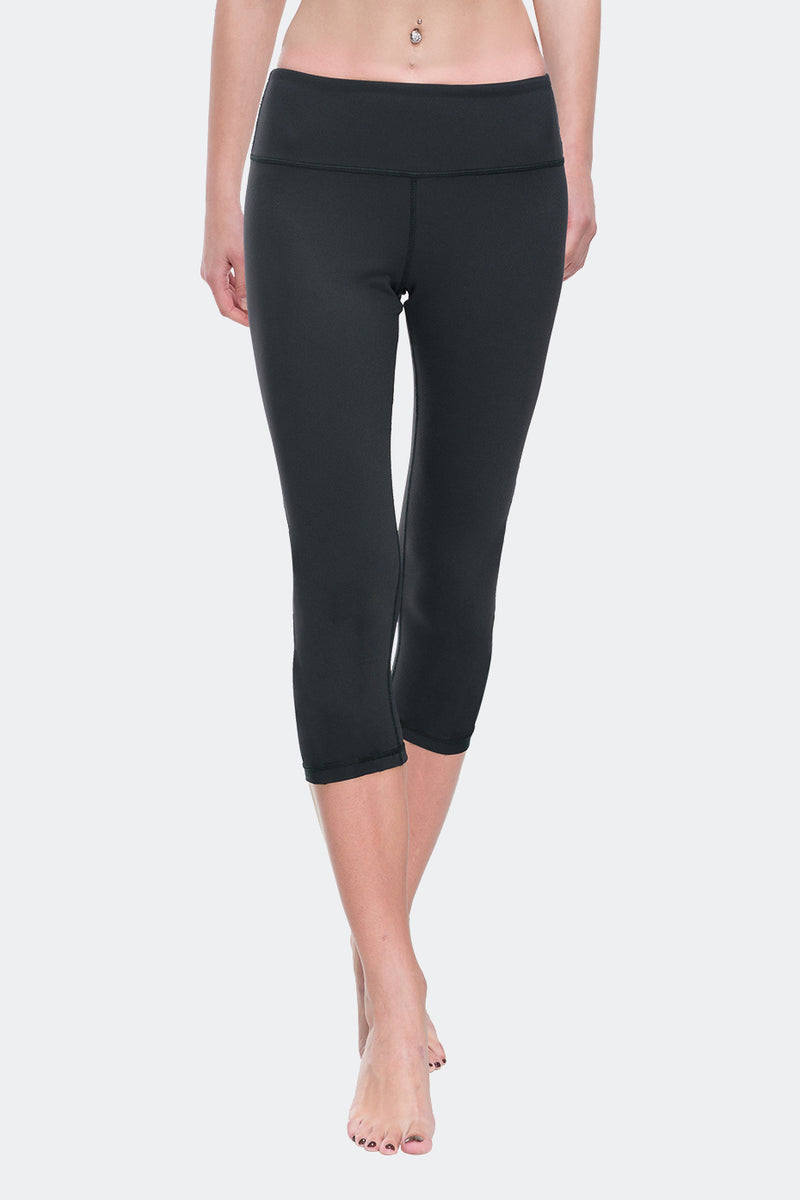 Ongasoft Yoga pants-9001Black-Model