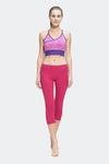 Ongasoft Yoga pants-9001Red-Model