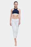 Ongasoft Yoga pants-9001White-Model