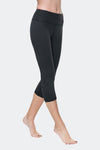 Ongasoft Yoga pants-9001Black-Side