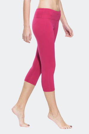 Ongasoft Yoga pants-9001Red-Side