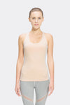 Ongasoft Yoga Tops-B011Pink-Front