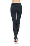 Ongasoft Yoga Pants-K0009Black-Back