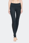 Ongasoft Yoga Pants-K0009Black-Front