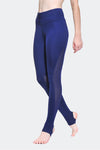 Ongasoft Yoga Pants-K0009Blue-Side