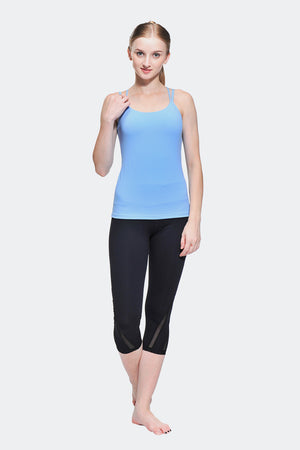 Ongasoft Yoga pants-K016Black-Model