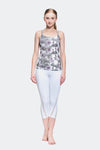 Ongasoft Yoga pants-K016White-Model