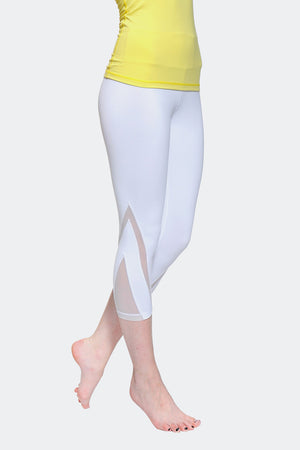 Ongasoft Yoga pants-K016White-Side