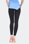 Ongasoft Yoga pants-K017Black-Back