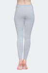 Ongasoft Yoga pants-K017Grey-Back
