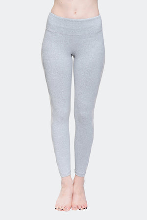 Ongasoft Yoga pants-K017Grey-Front