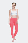 Ongasoft Yoga pants-K017Red-Model