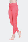 Ongasoft Yoga pants-K017Red-Side
