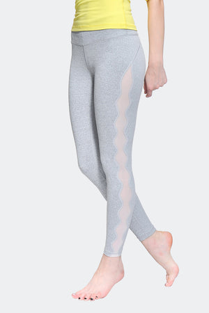 Ongasoft Yoga pants-K017Grey-Side