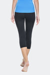 Ongasoft Yoga pants-K019Black-Back