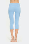 Ongasoft Yoga pants-K019Blue-Back