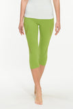 Ongasoft Yoga pants-K019Green-Front