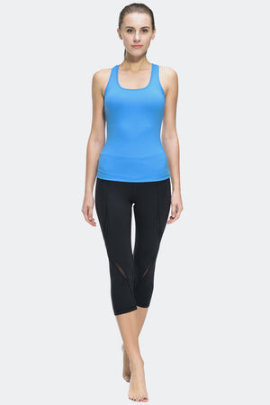 Ongasoft Yoga pants-K019Black-Model