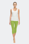Ongasoft Yoga pants-K019Green-Model