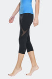 Ongasoft Yoga pants-K019Black-Side