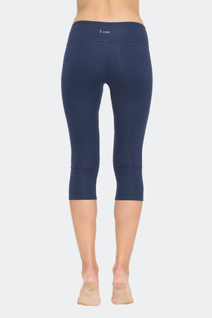 Ongasoft Yoga pants-K7-002Blue-Back