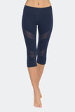 Ongasoft Yoga pants-K7-002Blue-Front