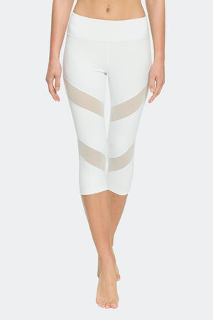 Ongasoft Yoga pants-K7-002White-Front