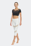 Ongasoft Yoga pants-K7-002White-Model