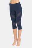 Ongasoft Yoga pants-K7-002Blue-Side